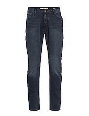 Slim fit blue black Jan jeans - OPEN BLUE