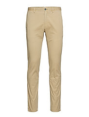 Slim fit chino trousers - LIGHT BEIGE