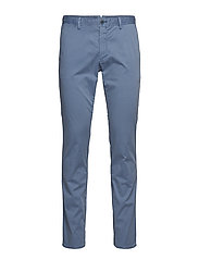 Slim fit chino trousers - LT-PASTEL BLUE