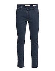 Slim fit navy Patrick jeans - DARK BLUE