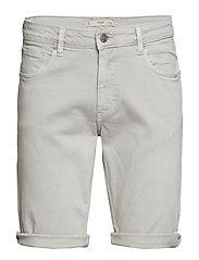 Colour Bermuda Shorts Jeansshorts Denimshorts Grå MANGO MAN