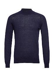 100% merino wool sweater - NAVY