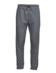 Cord cotton jogger - MEDIUM GREY