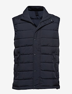Ultra-light quilted gilet - NAVY