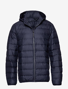 Water-repellent ultra-light anorak - NAVY