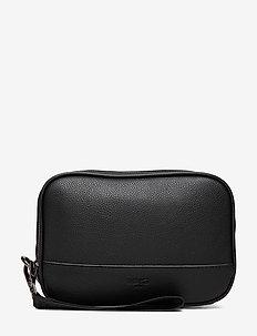 Wristlet cosmetic bag - BLACK