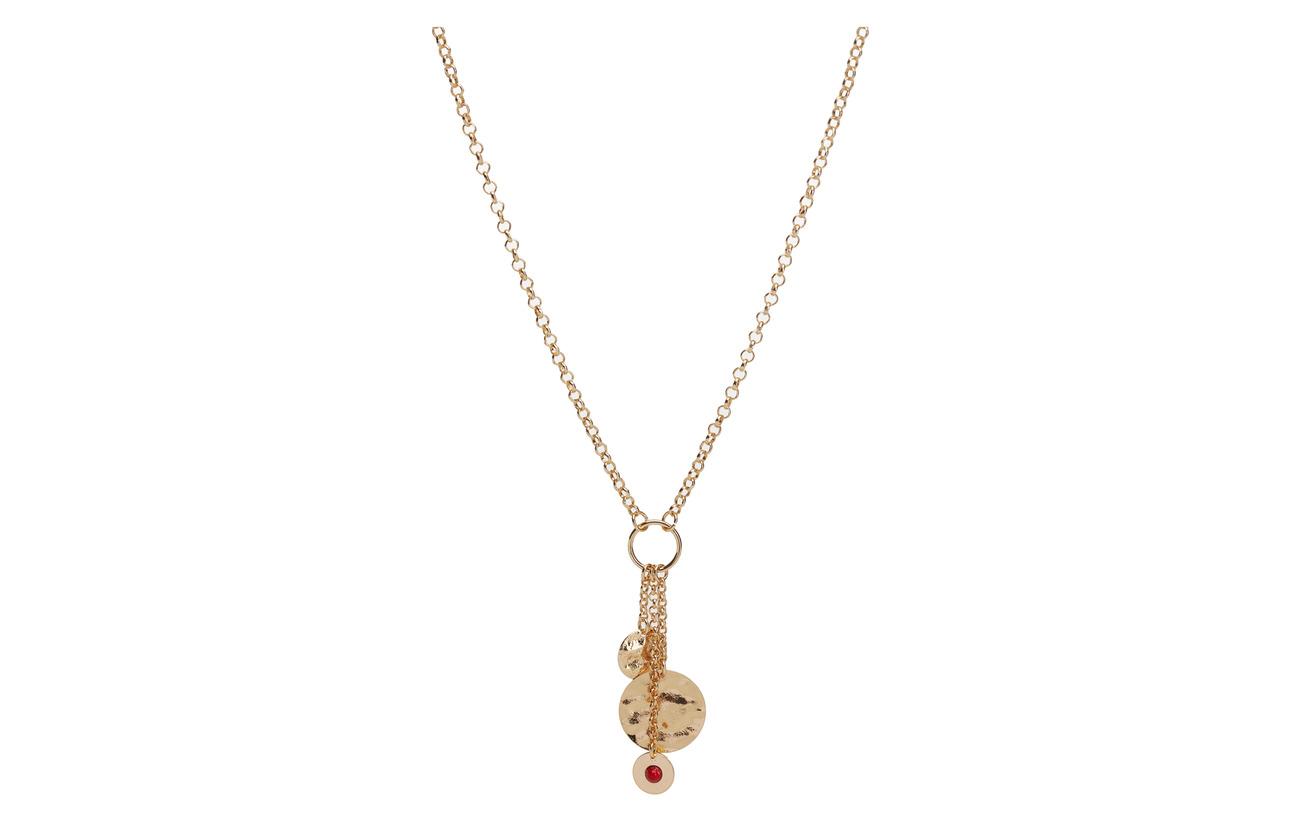 Mango Contrasting pendant necklace Smycken
