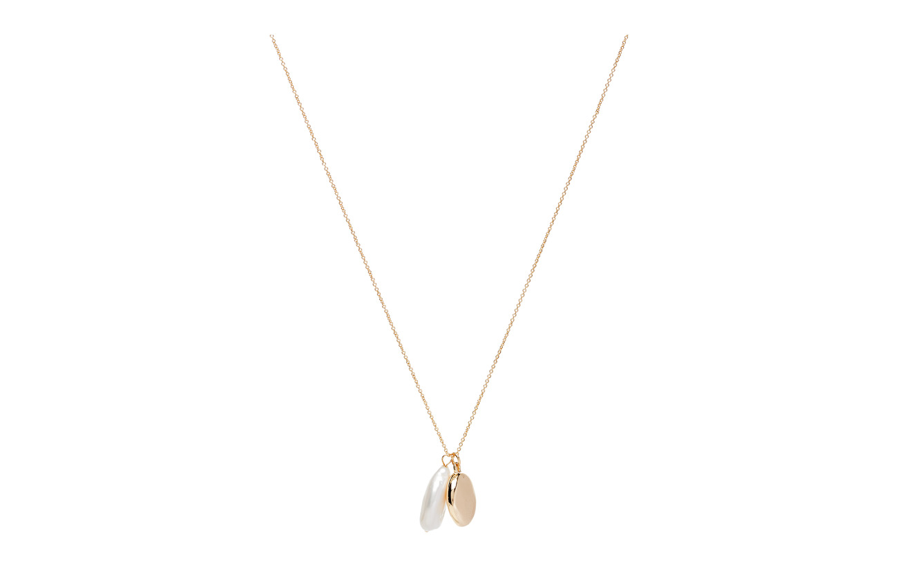 Mango Mixed pearl necklace - GOLD
