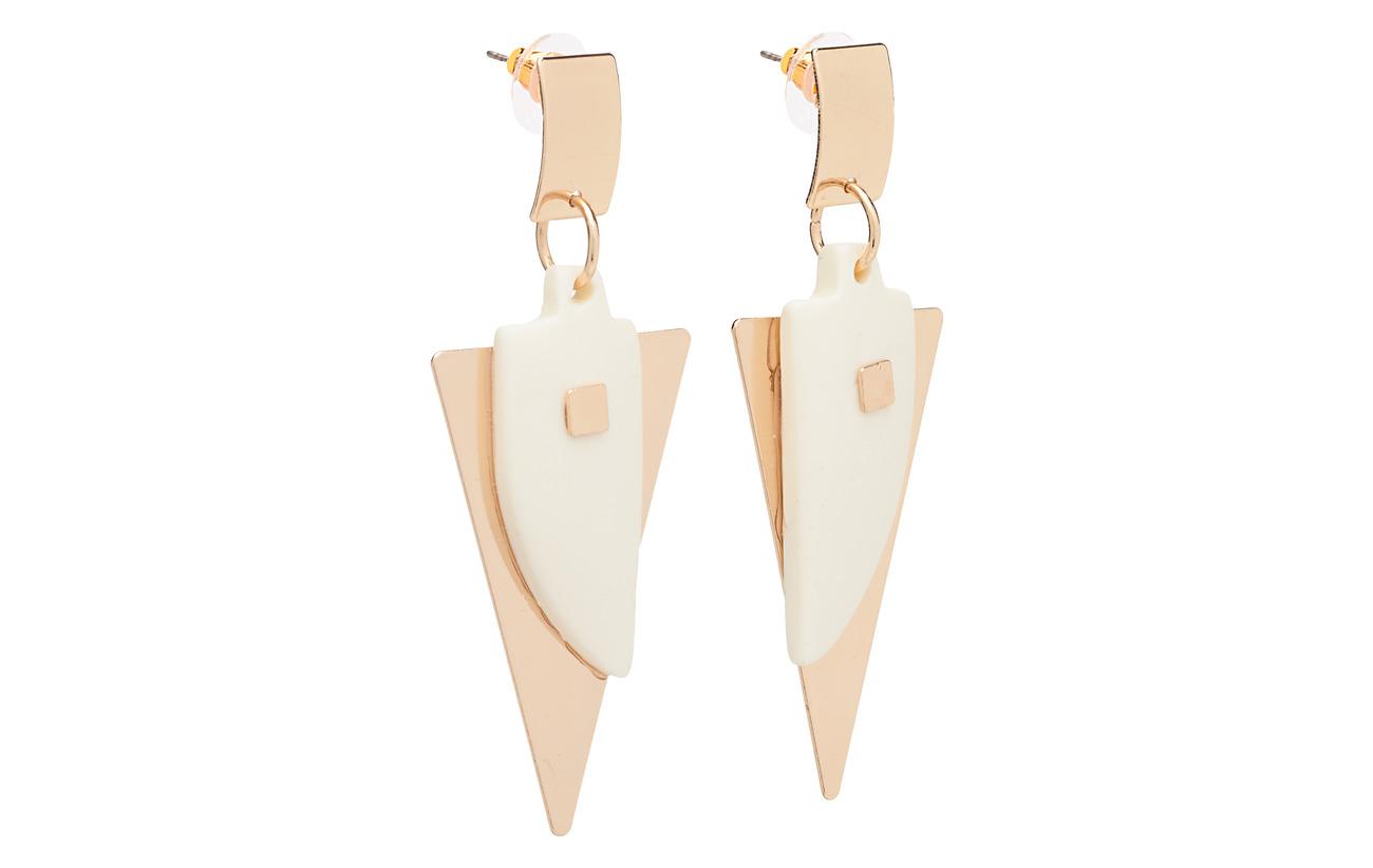 Mango Geometric earrings - GOLD