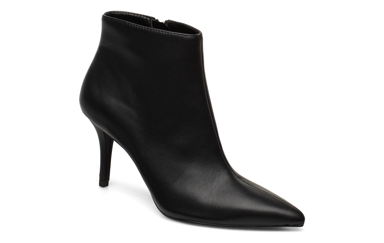 Mango Pointed heel ankle boot - BLACK