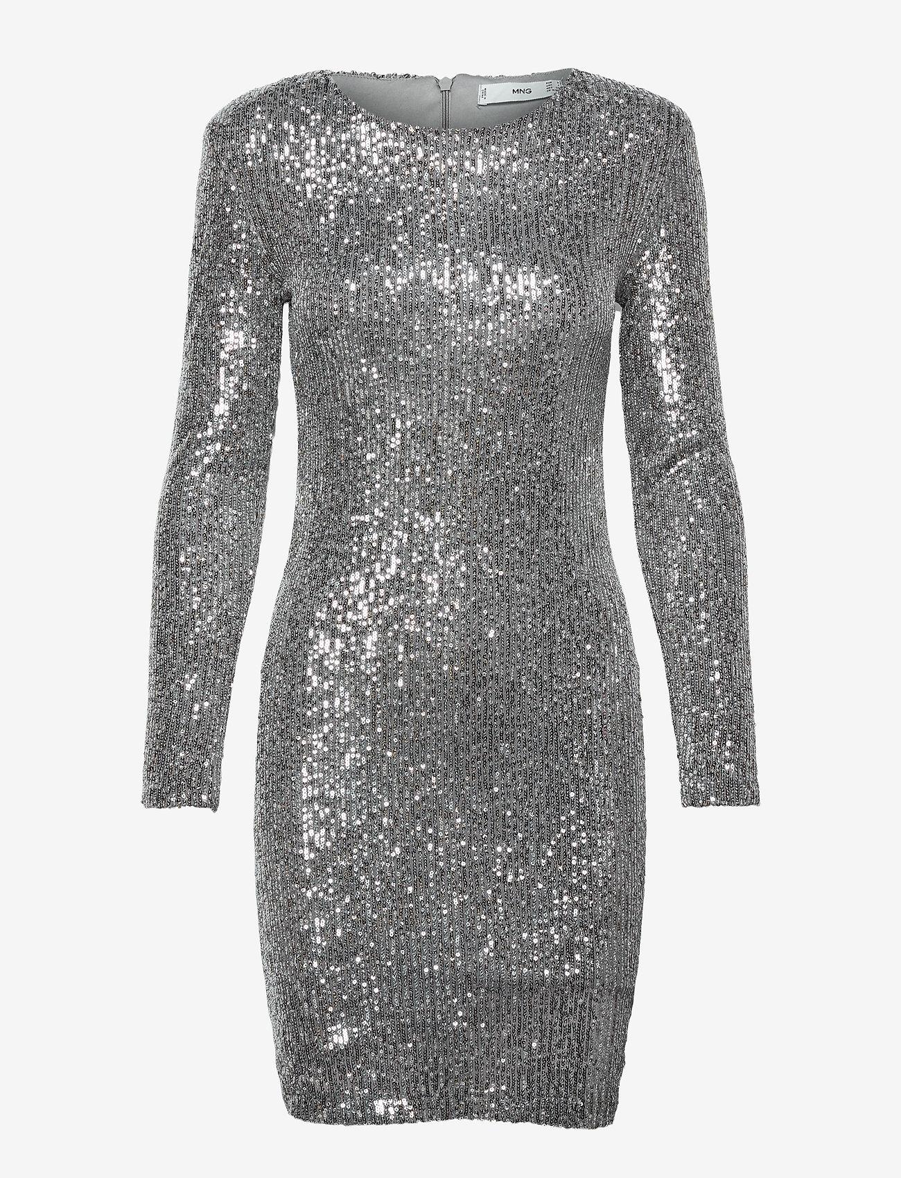 Mango - LENJUELA - cocktail-kjoler - silver - 0
