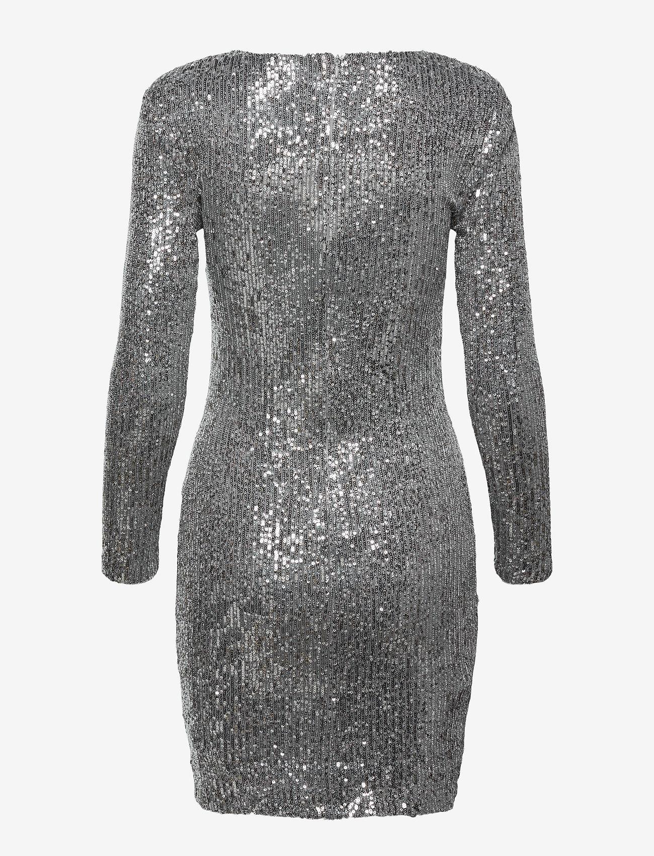 Mango - LENJUELA - cocktail-kjoler - silver - 1