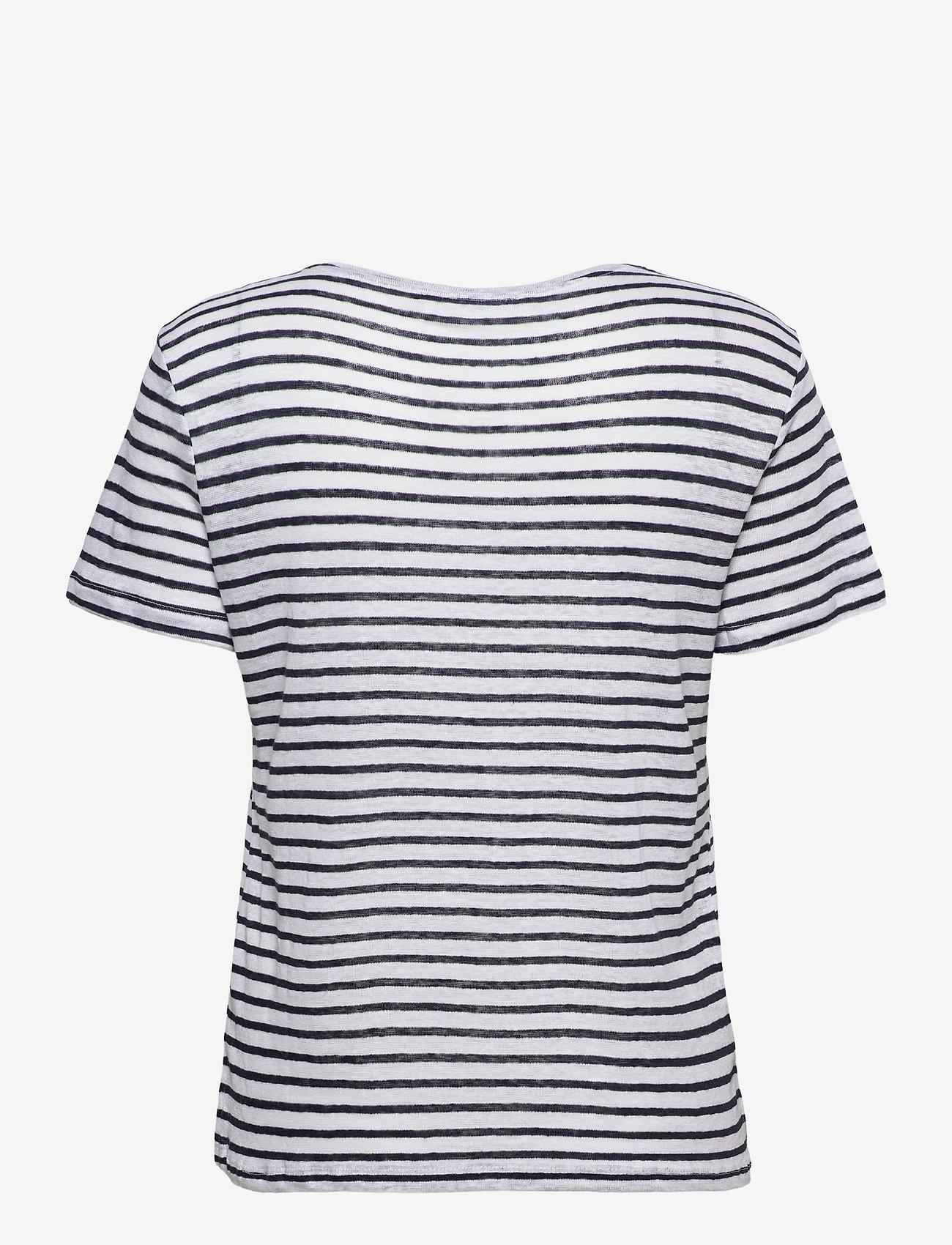 Mango - LISINO - t-shirts - navy - 1