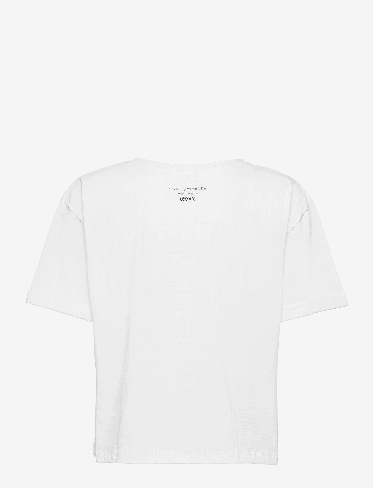 Mango - PSWOMAN3 - t-shirts - white - 1