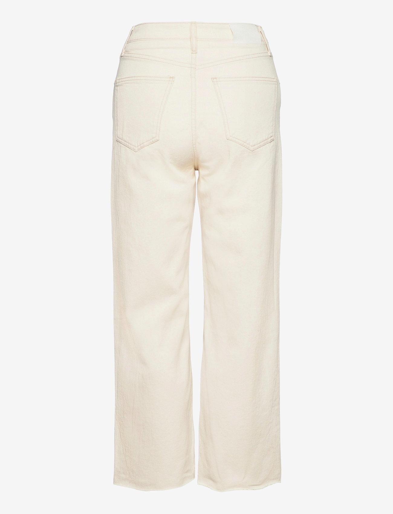 Mango - JULIETA - bukser med brede ben - light beige - 1