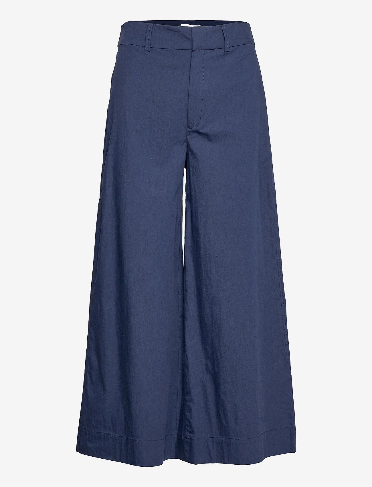 Mango - CIEL - bukser med brede ben - navy - 0