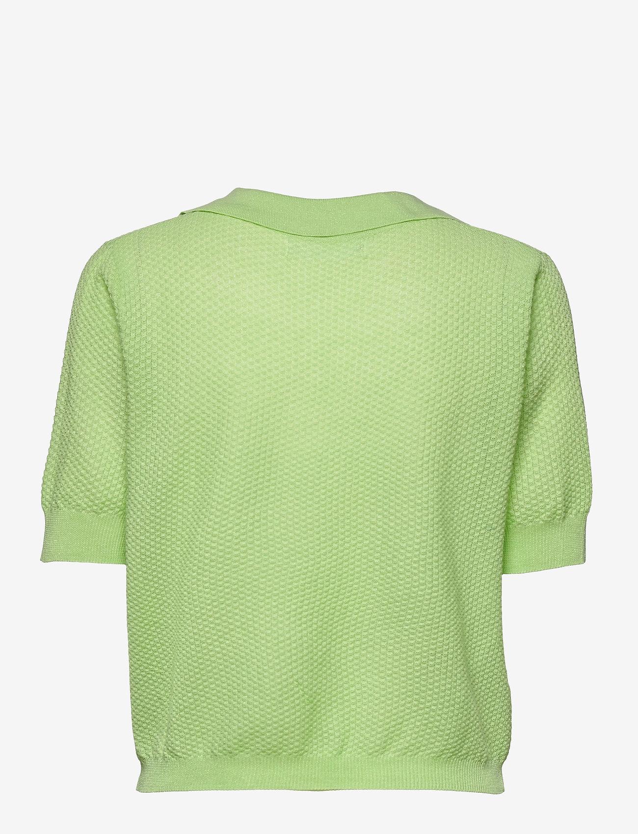 Mango - CIRCLE - strikkede toppe - green - 1
