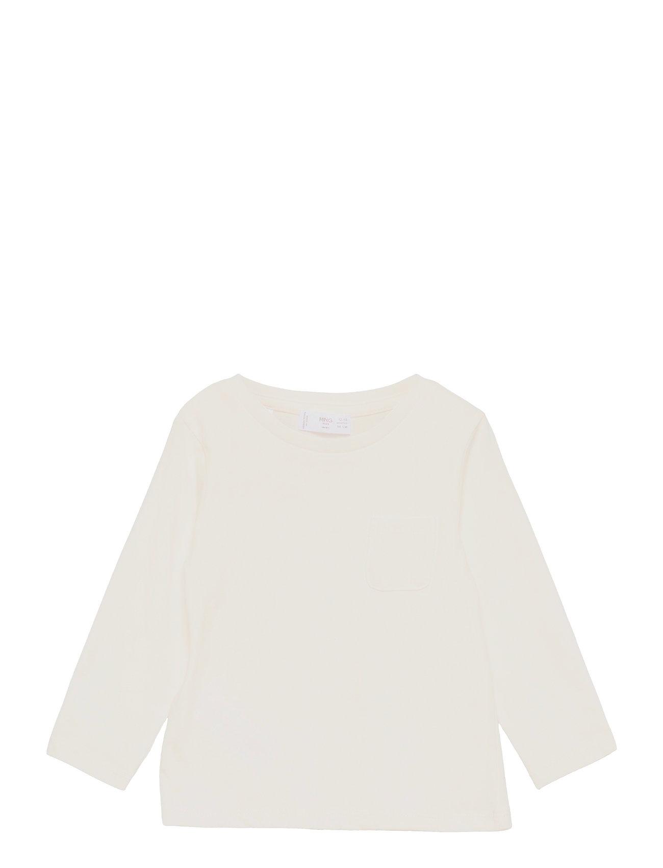 Marcos1 Langærmet T-shirt Creme Mango