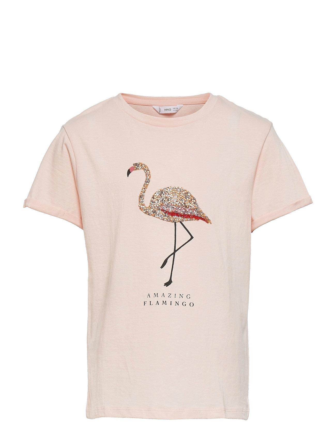 Piedra T-shirt Lyserød Mango