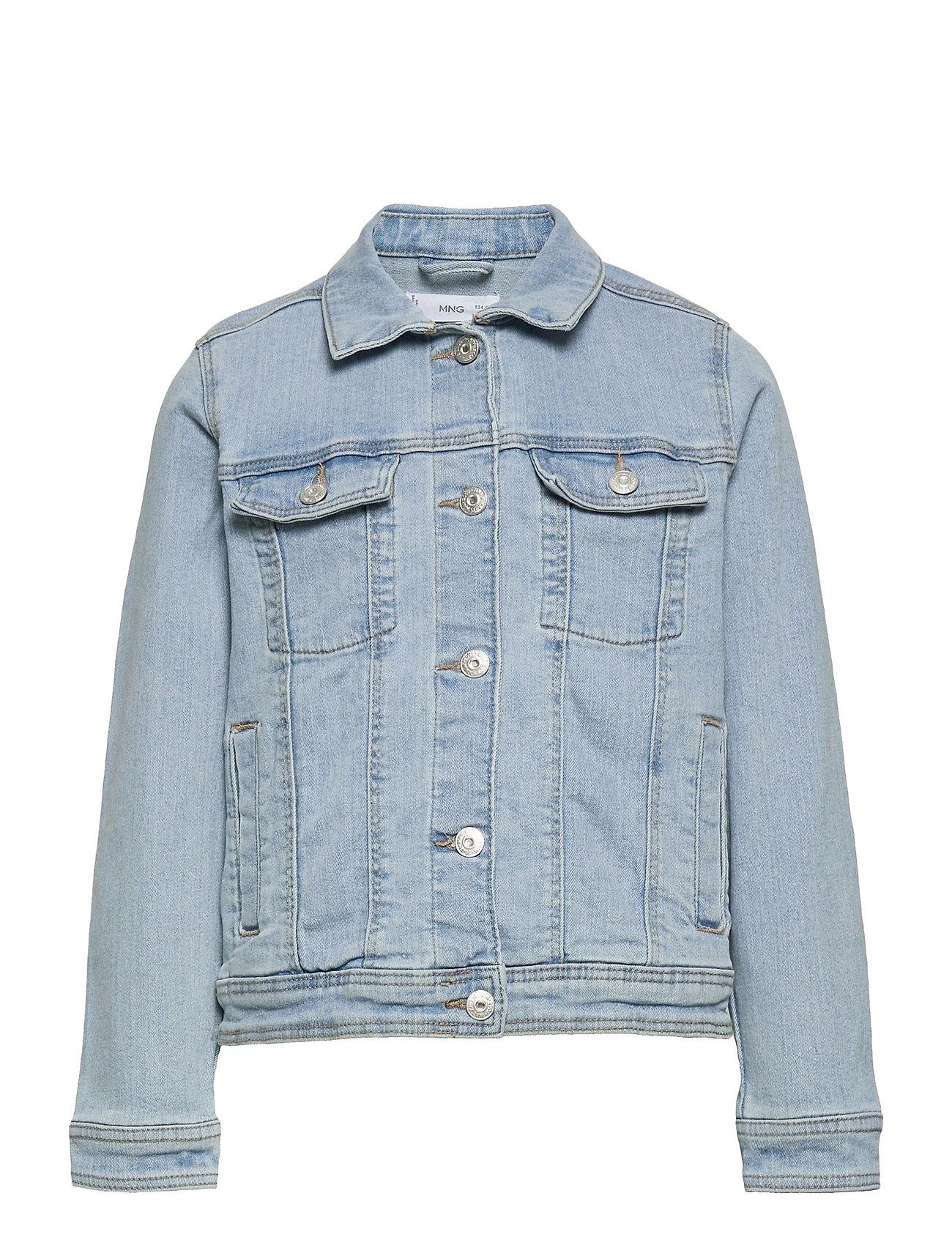 Allegra Outerwear Jackets & Coats Denim & Corduroy Blå Mango
