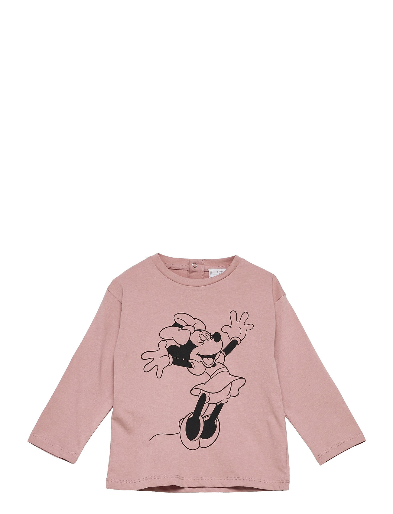Mfeliz Langærmet T-shirt Lyserød Mango