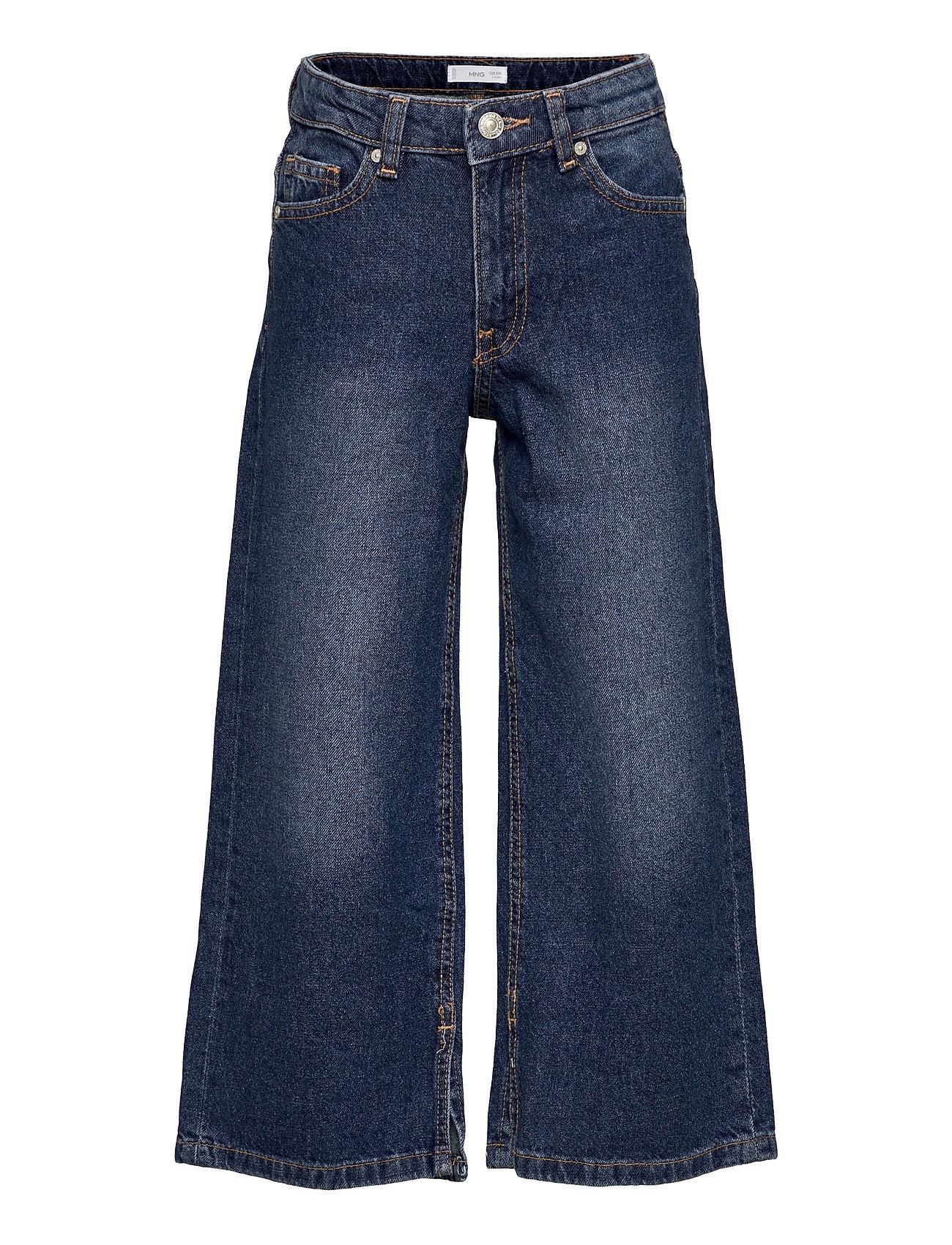 Culotte Jeans Blå Mango