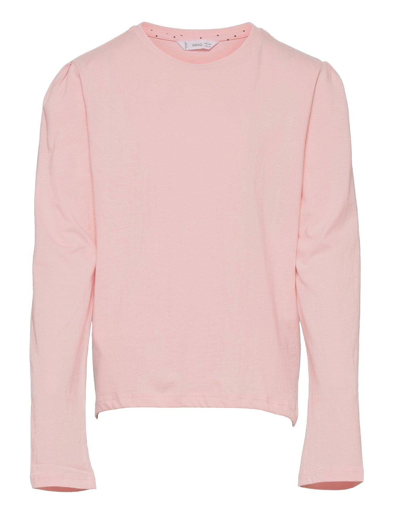 Basica1 Langærmet T-shirt Lyserød Mango