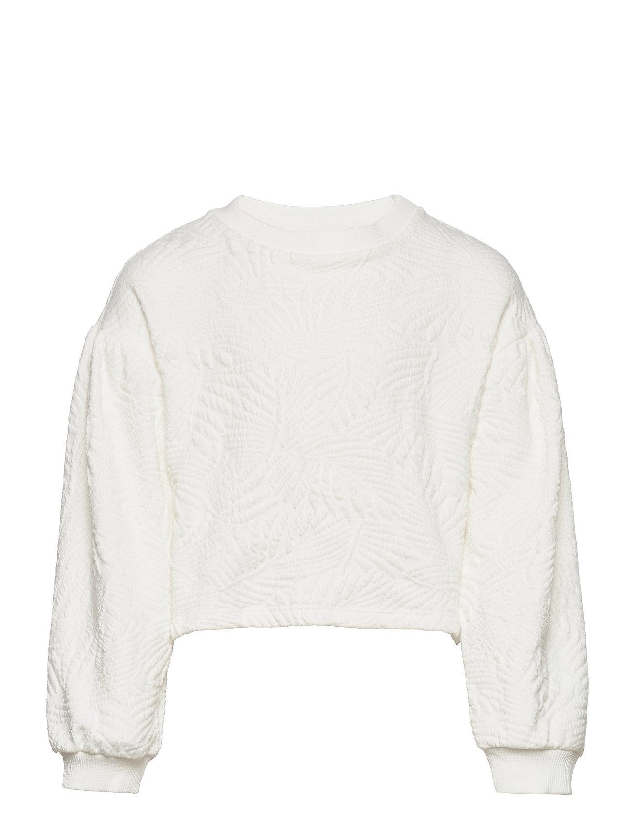 Malibut Sweatshirt Trøje Hvid Mango