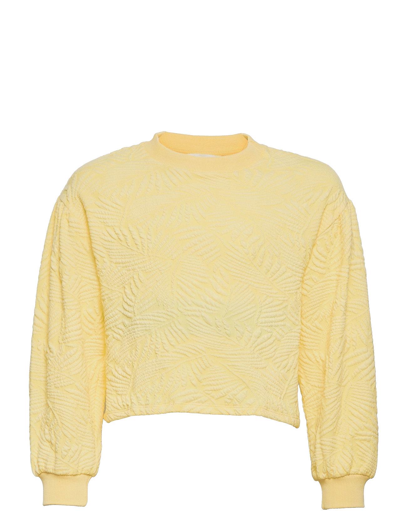 Malibut Sweatshirt Trøje Gul Mango