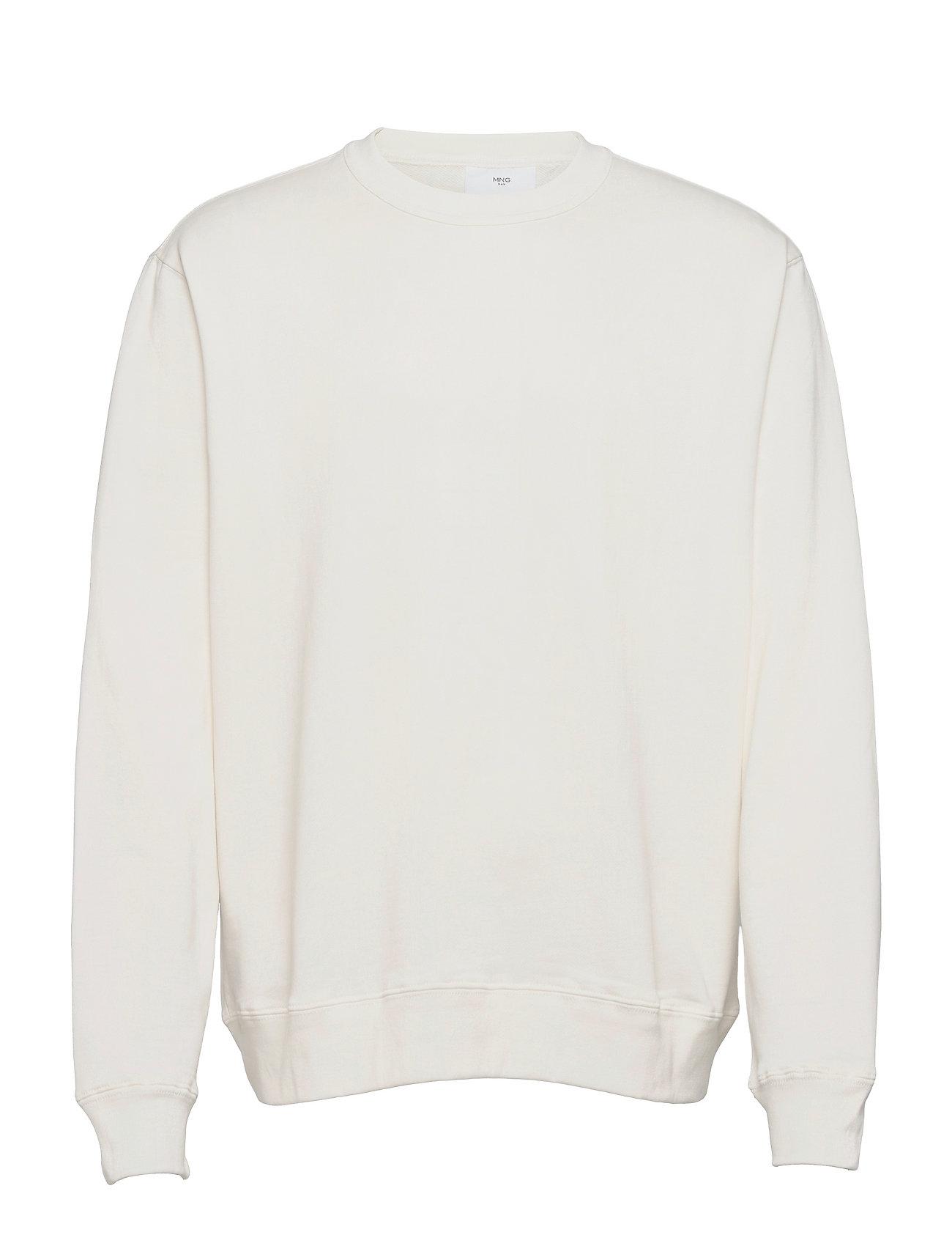 Nole Sweatshirt Trøje Hvid Mango