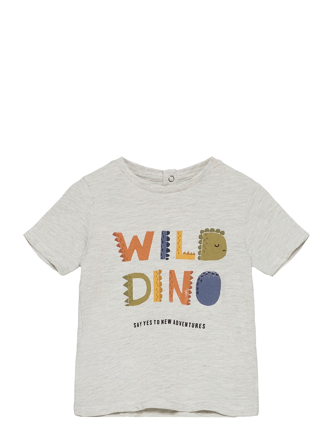 Dinos T-shirt Grå Mango