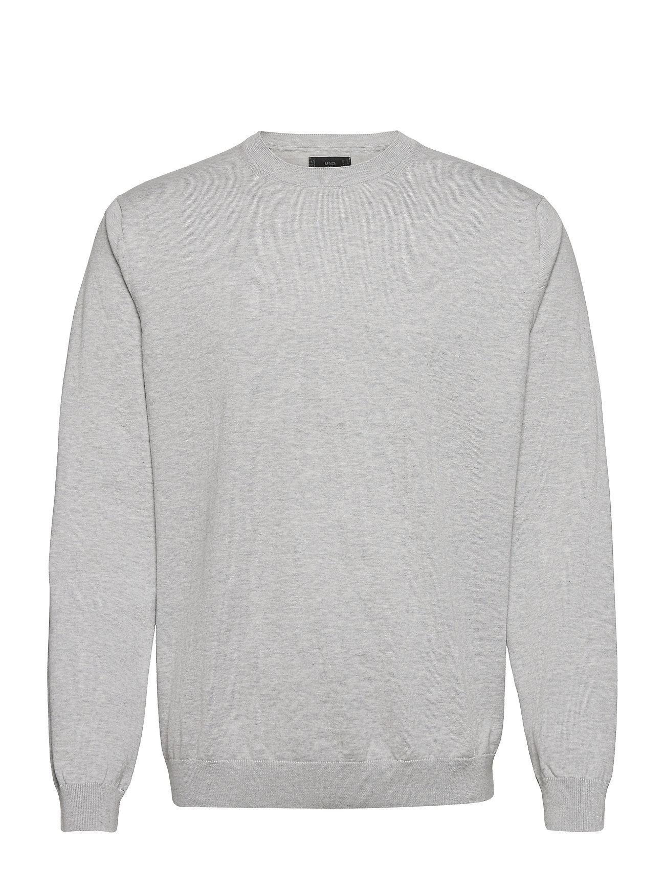 Ten Sweatshirt Trøje Grå Mango