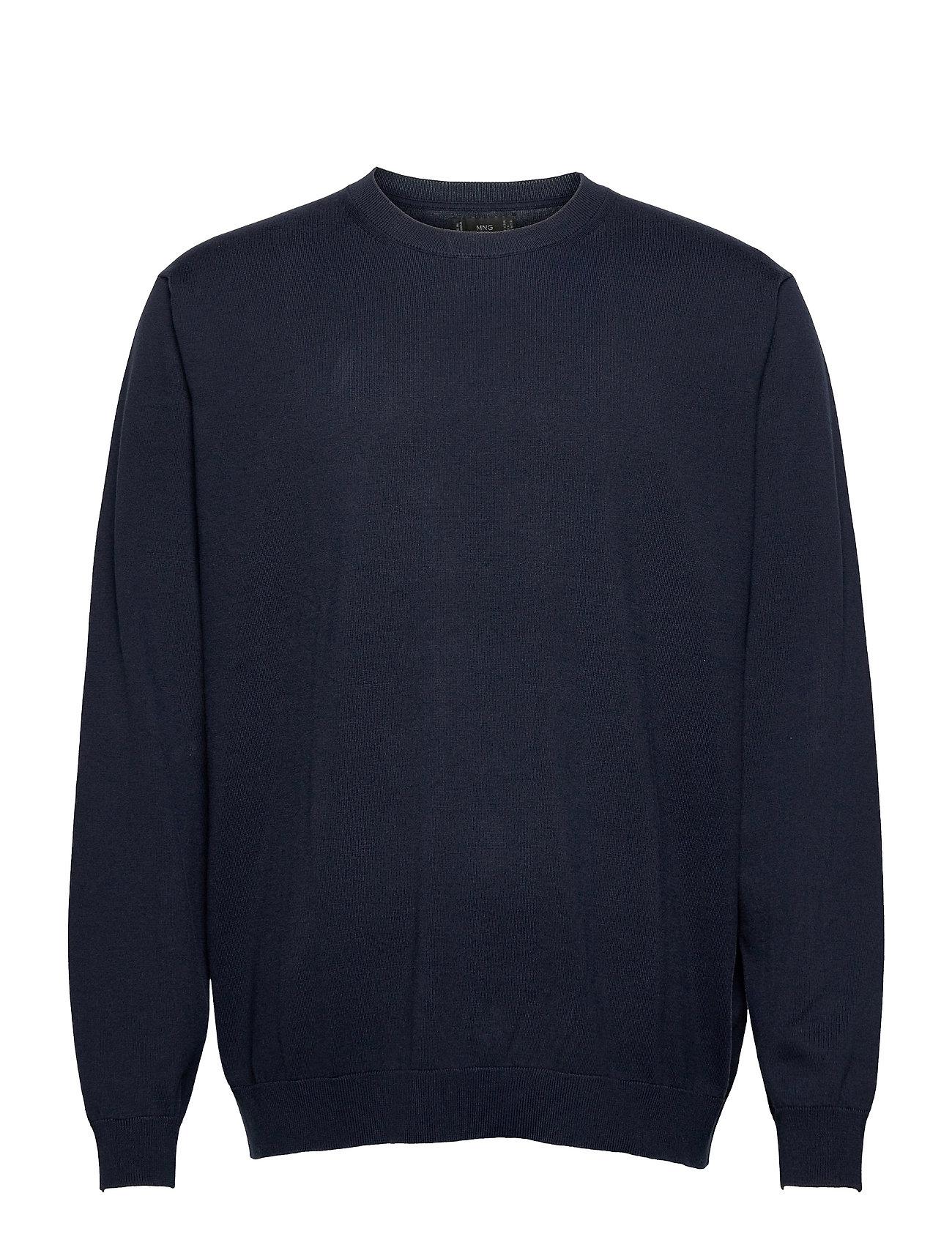 Ten Sweatshirt Trøje Blå Mango