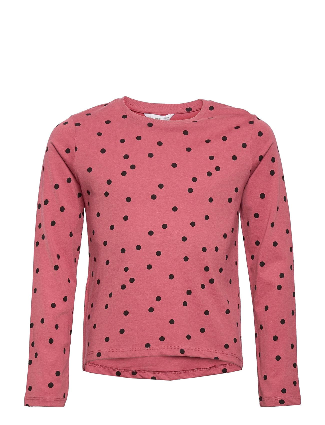 Basicap Langærmet T-shirt Lyserød Mango
