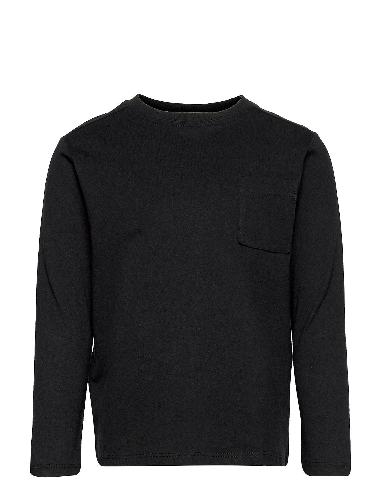 Basicat1 Langærmet T-shirt Sort Mango