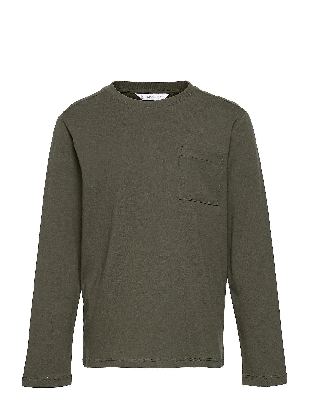 Basicat1 Langærmet T-shirt Grøn Mango