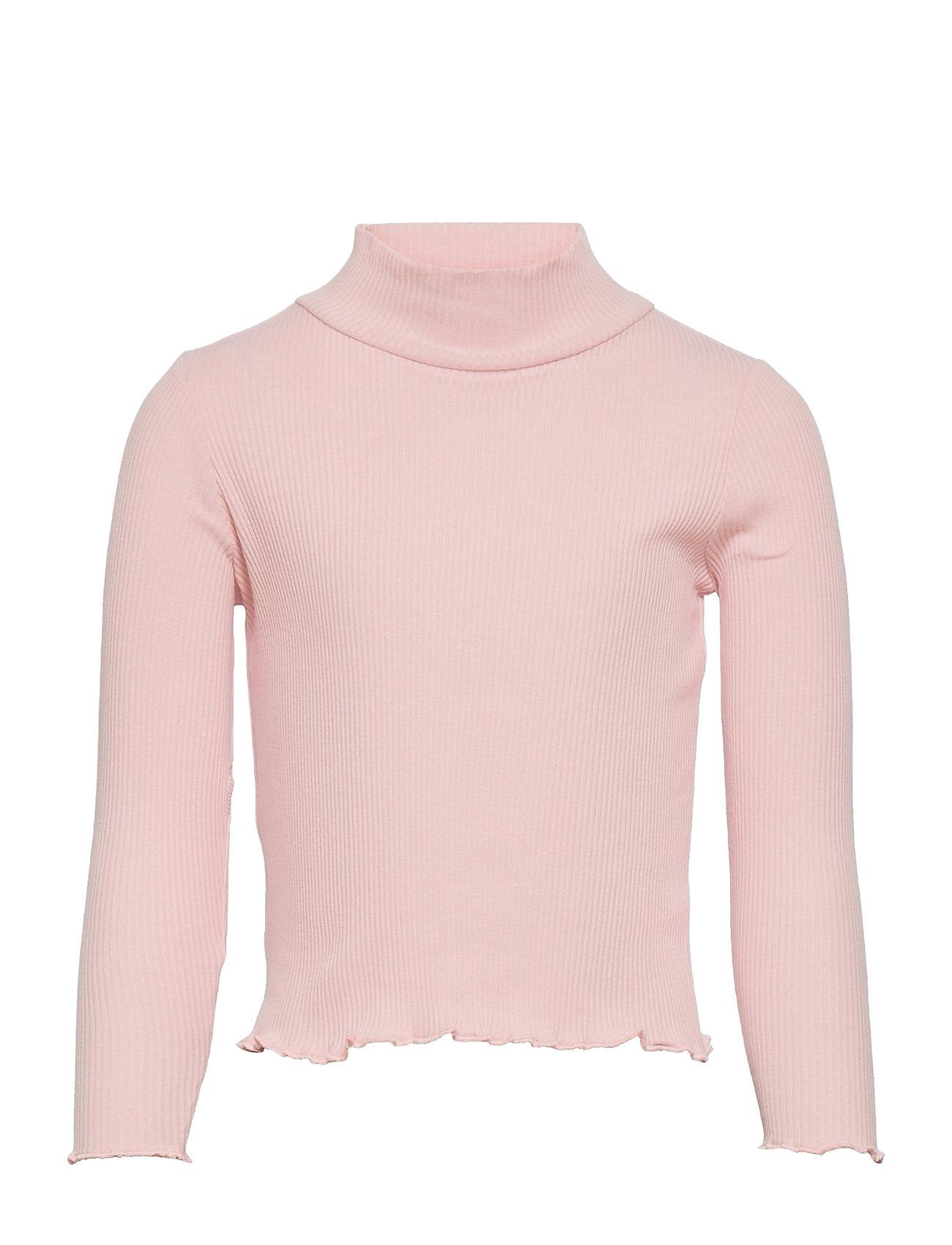 Turborib Langærmet T-shirt Lyserød Mango