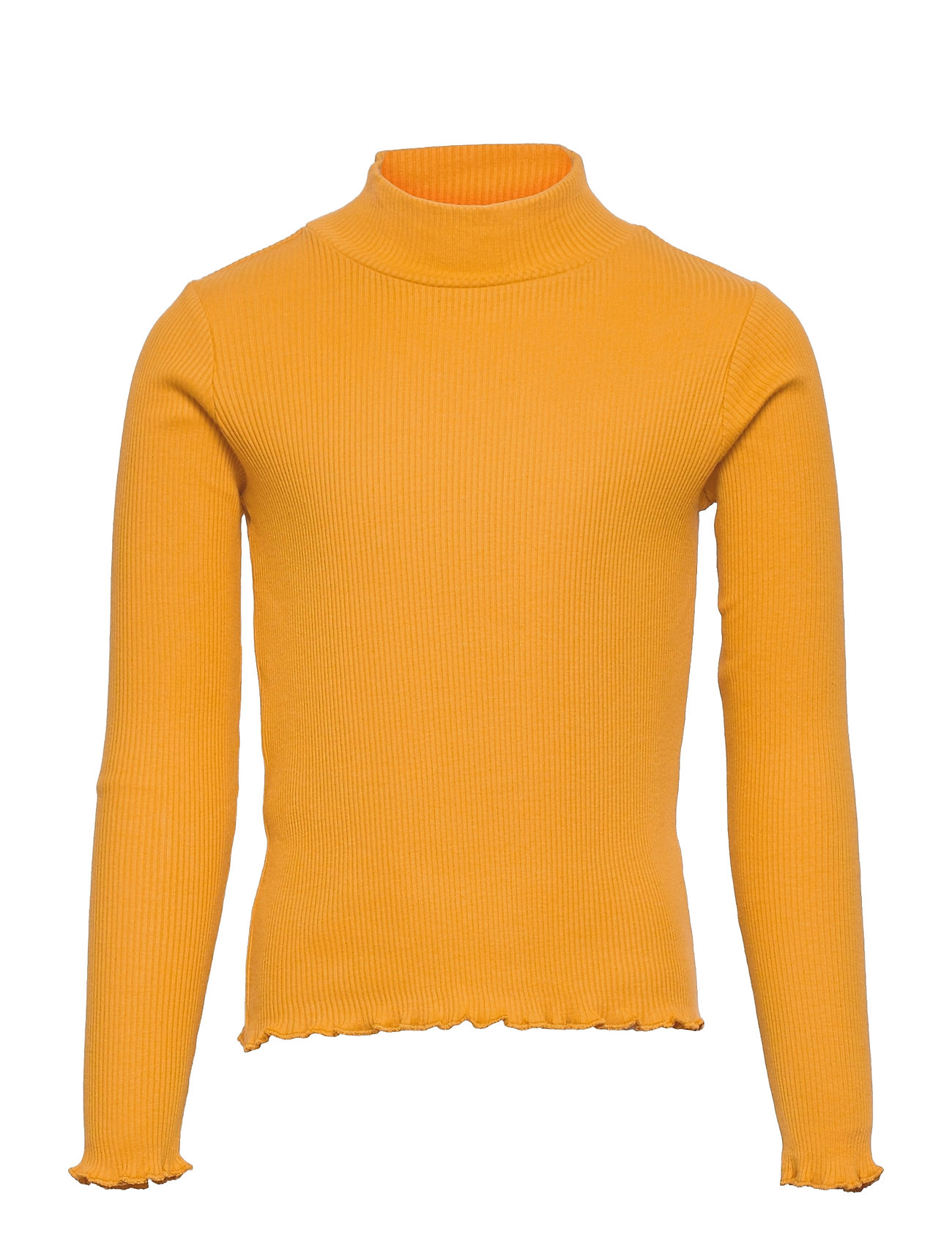 Turborib Langærmet T-shirt Gul Mango