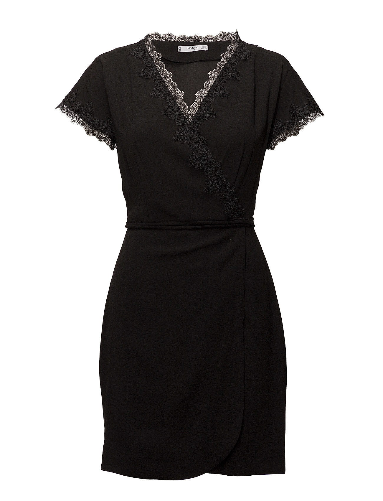 Blonda Detail Dress