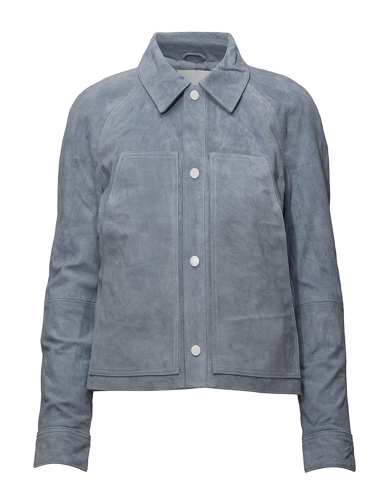 Mango Stich leather jacket