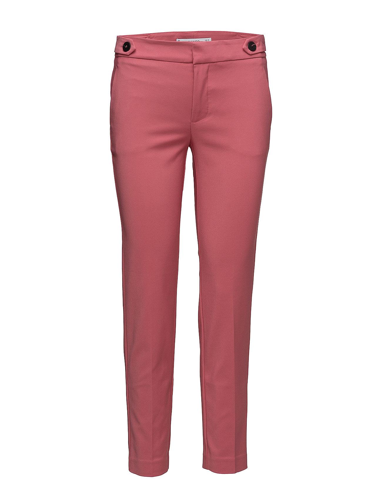 Mango Cropped button pants