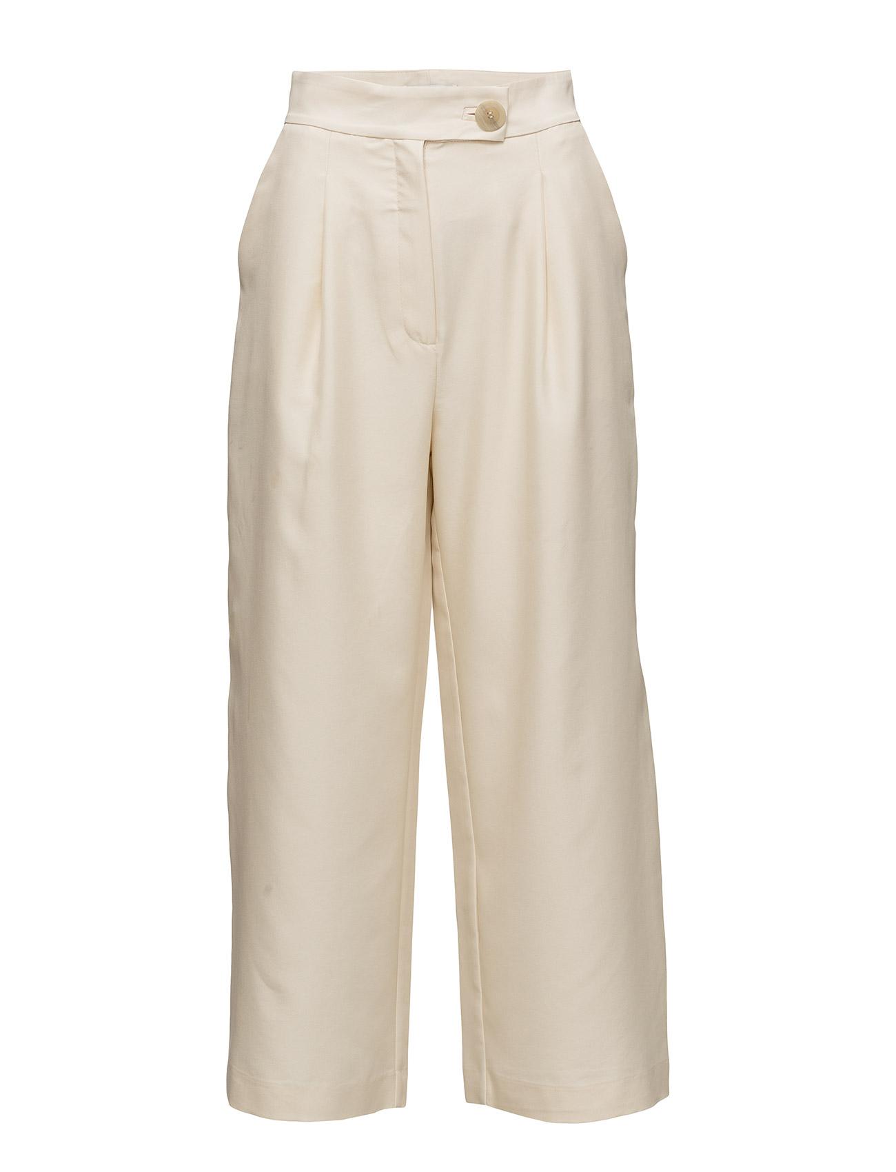 Mango Pleat detail trousers