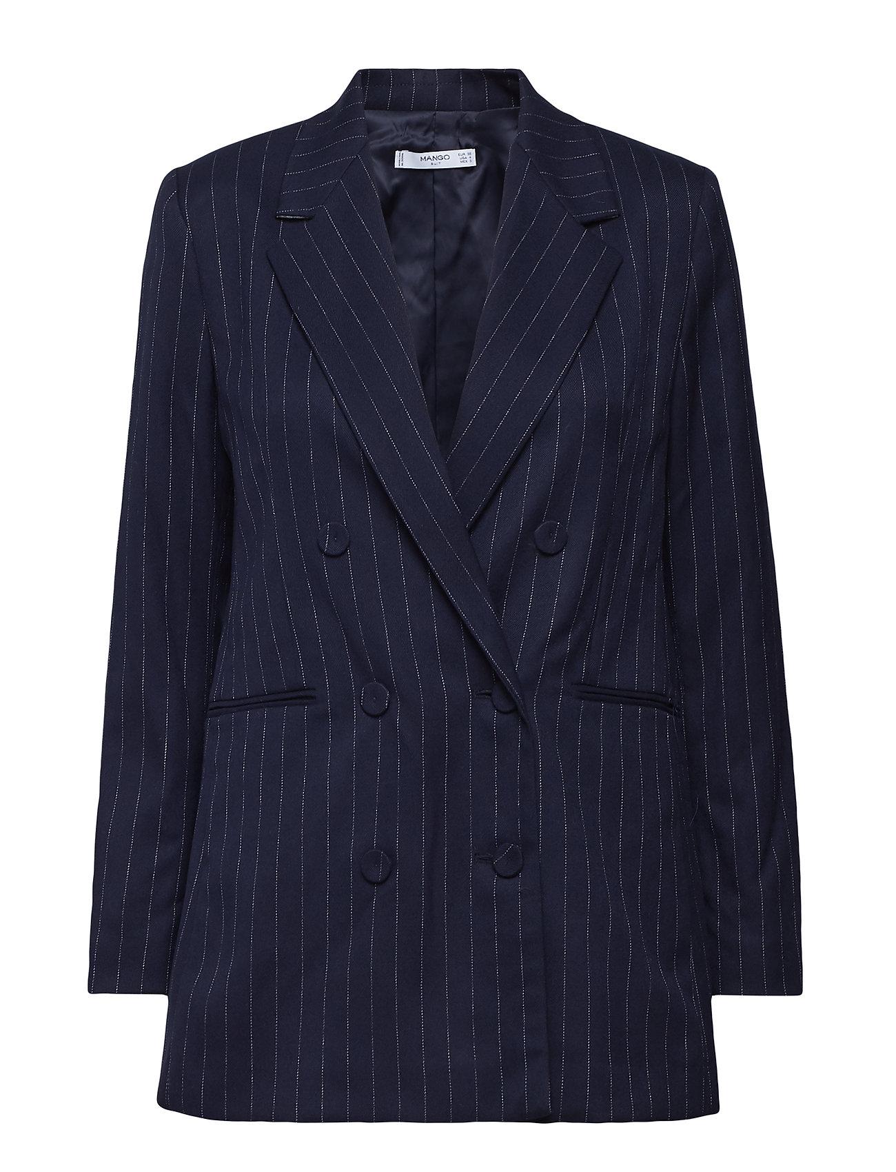 Striped Suit Blazer