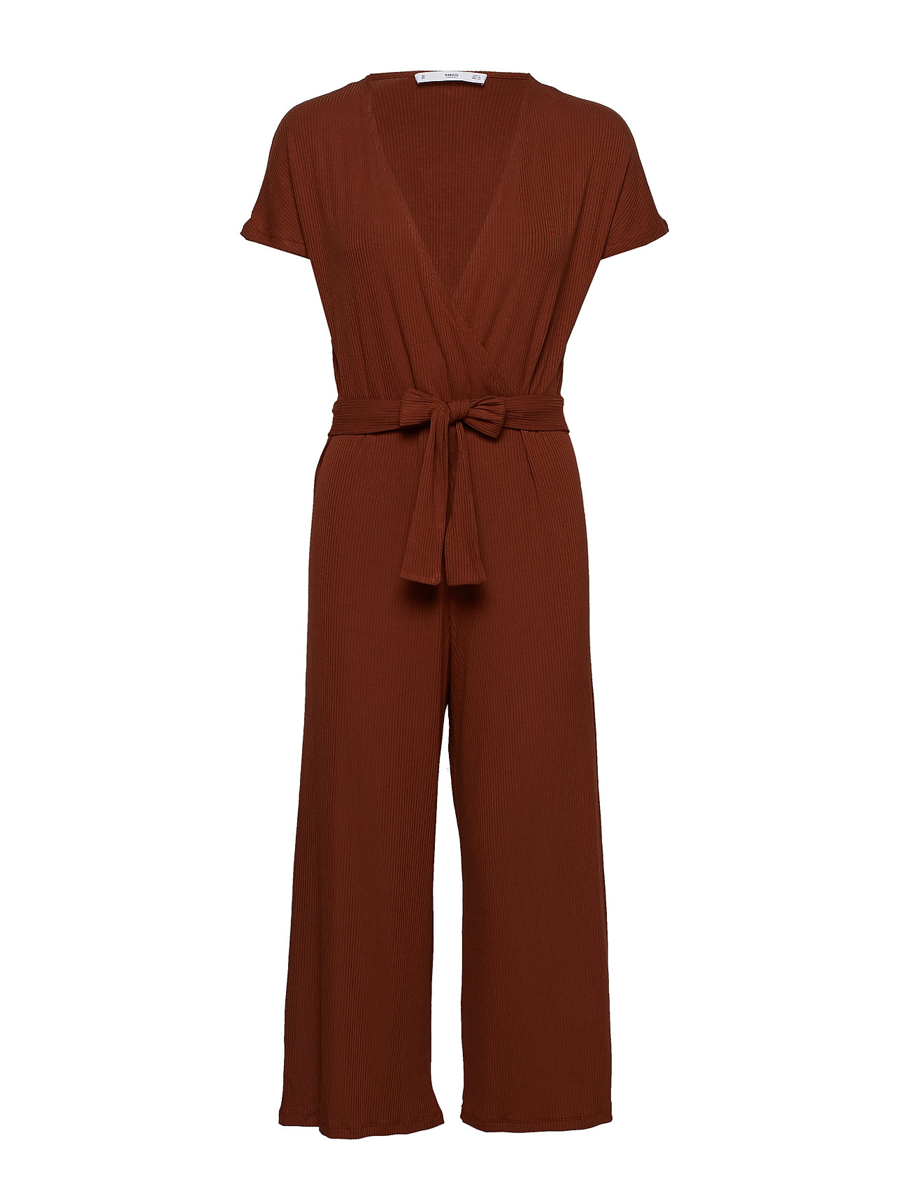 Mango Ribbed knit juimpsuit Jumpsuits