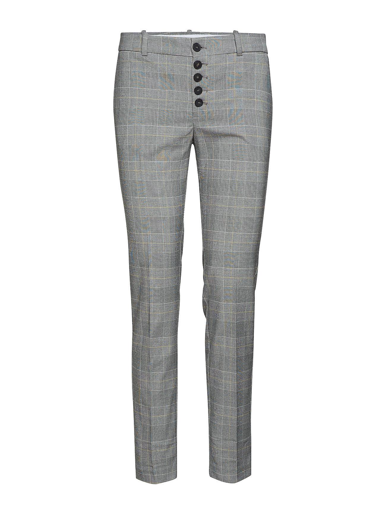 Mango Buttons cotton trousers Byxor