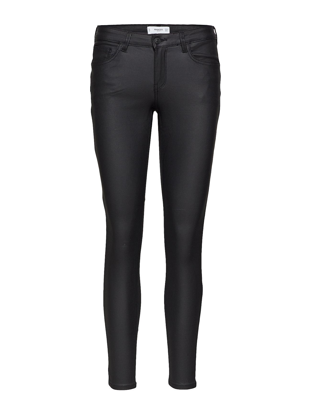 Mango Coated Kim skinny push up jeans Jeans