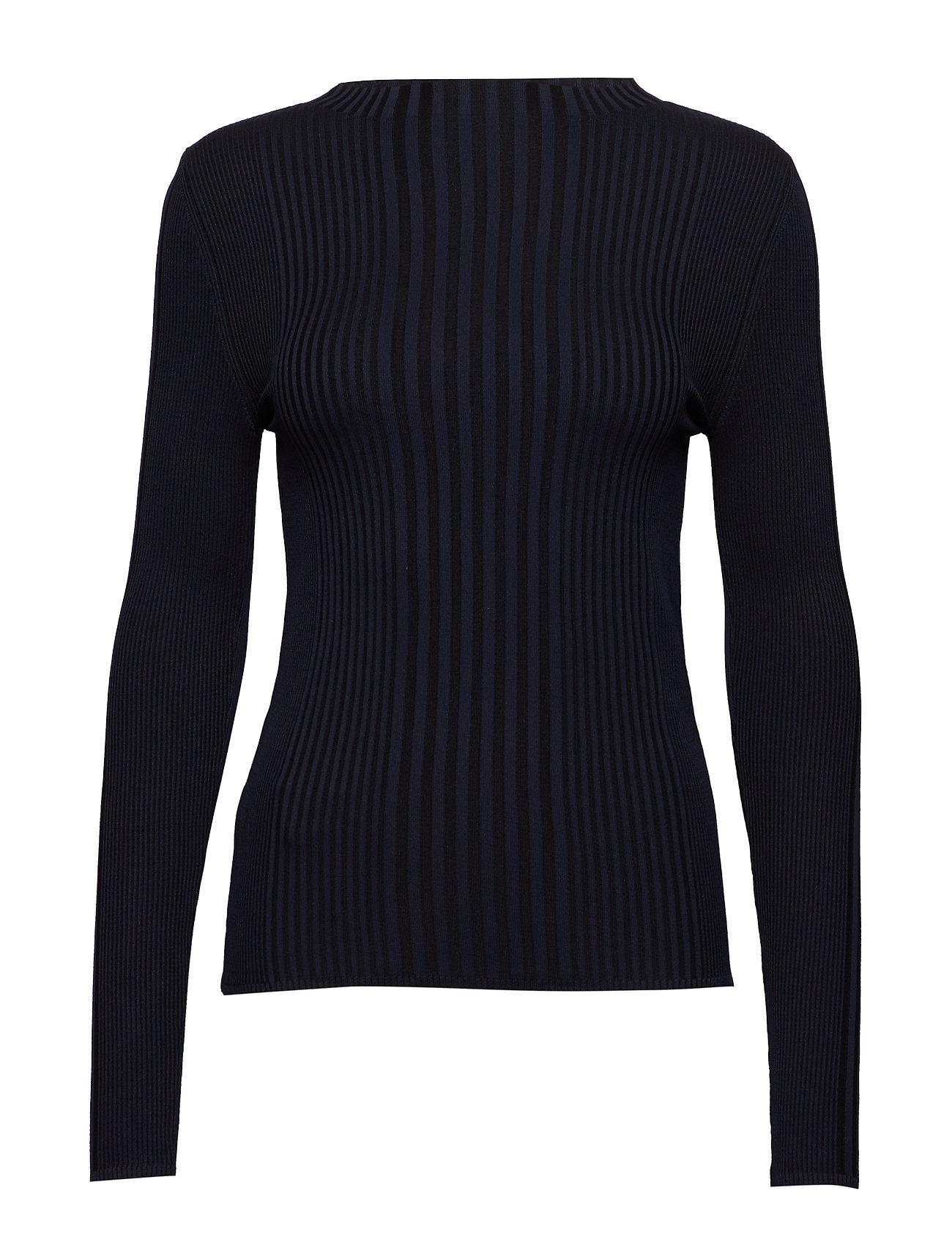 Mango Ribbed fine knit sweater Ögrönlar