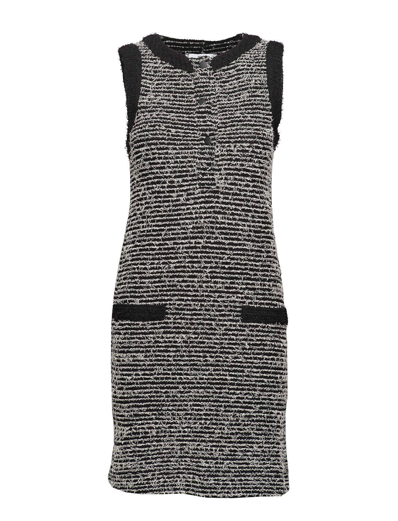 Mango Pocket tweed dress