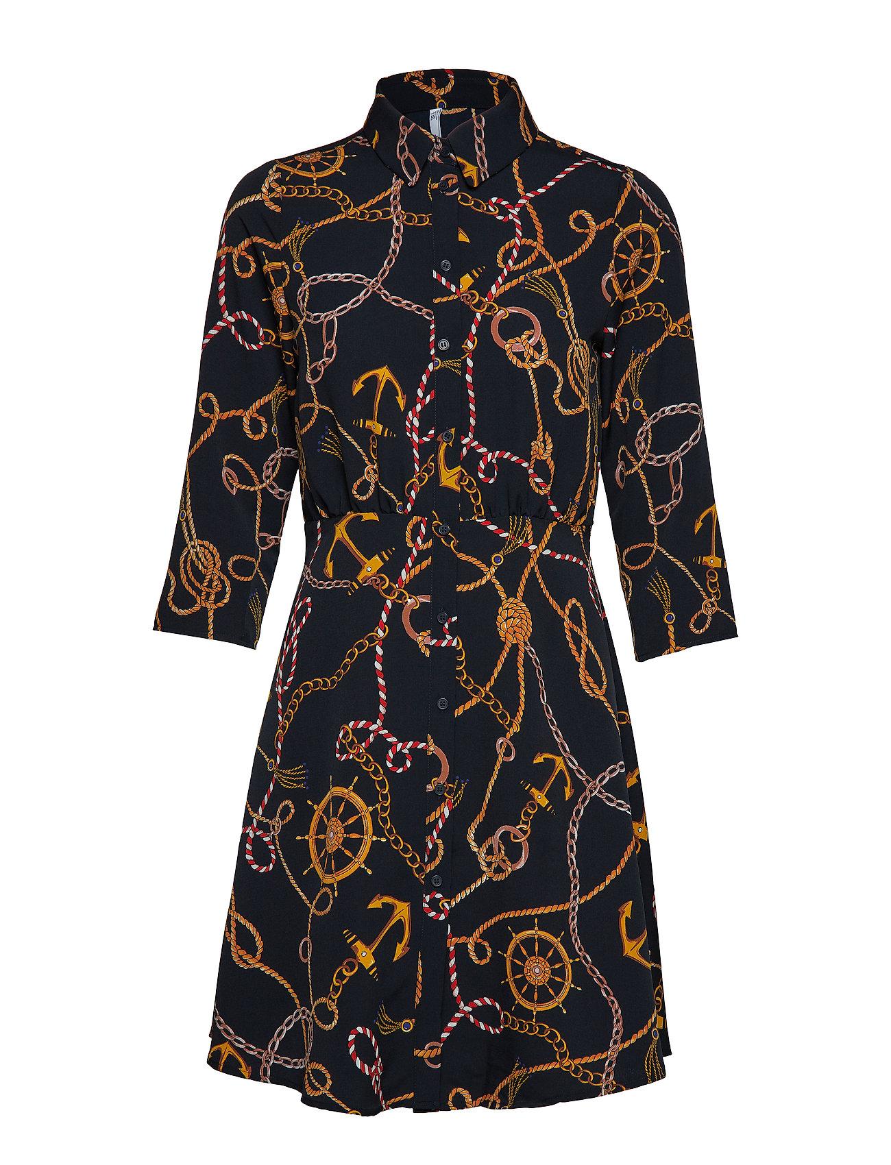 Mango Chain print dress Klänningar