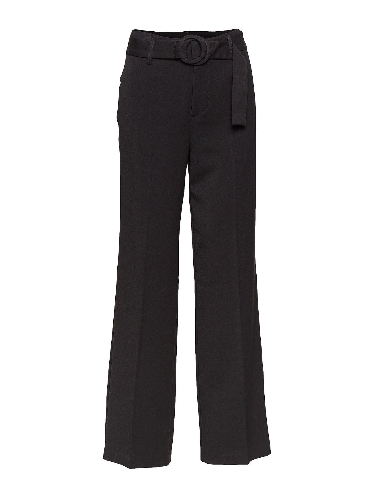 Mango Belt straight fit trousers Byxor